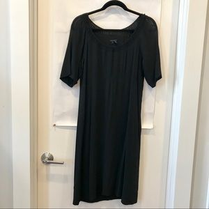 Theory Black Midi Dress